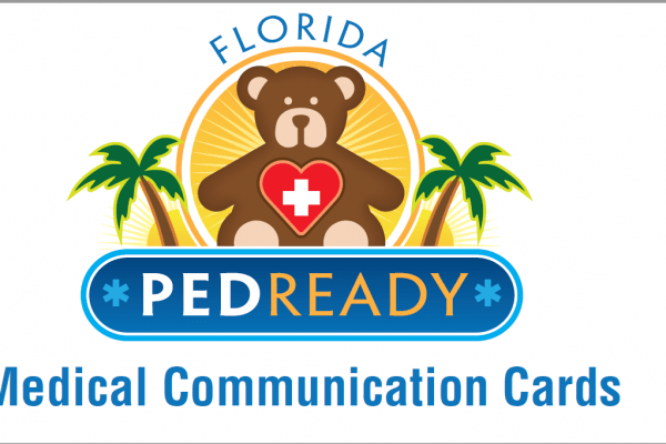 2019 PEDReady Medical Communication Cards logo